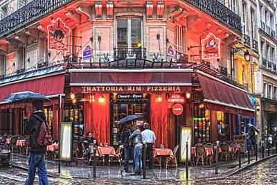 Mauverneen Blevins Photograph - Paris Cafe by Mauverneen Blevins