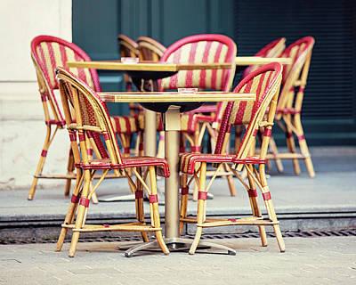 Photograph - Paris Cafe - Paris, France by Melanie Alexandra Price