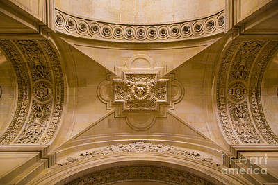 Photograph - Paris Ceiling by Brian Jannsen