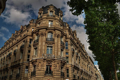 Photograph - Paris - Champs Elysees 001 by Lance Vaughn