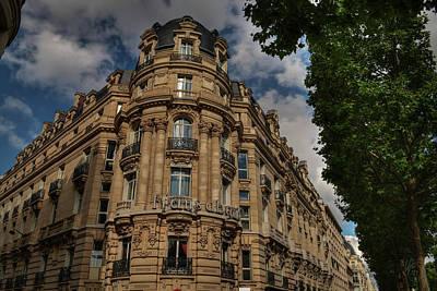 Photograph - Paris - Champs Elysees 001 by Lance Vaughn
