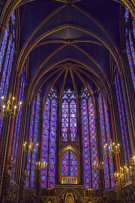 Chapelle Photograph - Paris Chapel by Andrew Soundarajan