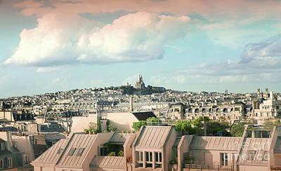 Photograph - Paris City View 33 by Alexandra Art