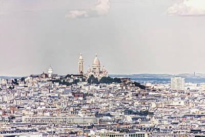 Photograph - Paris City View 34 by Alexandra Art