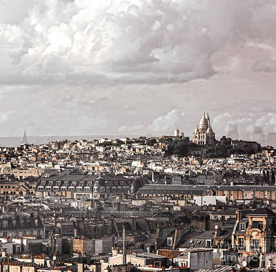 Photograph - Paris City View 35 by Alexandra Art