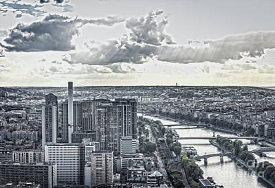 Photograph - Paris City View 36 by Alexandra Art