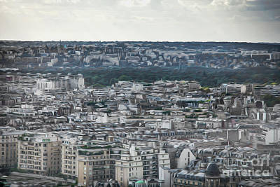 Photograph - Paris City View 38 by Alexandra Art