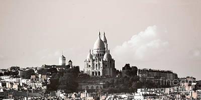 Photograph - Paris City View 41 by Alexandra Art