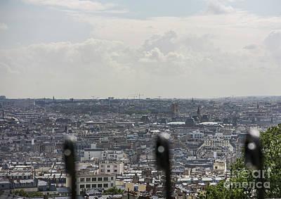 Photograph - Paris City View 42 by Alexandra Art