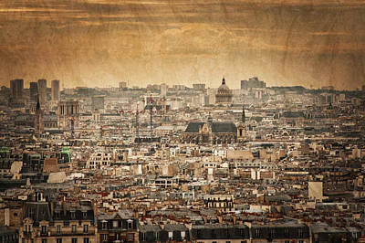 Photograph - Paris Skyline by Kevin Schwalbe