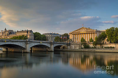 Photograph - Paris Dawn by Brian Jannsen