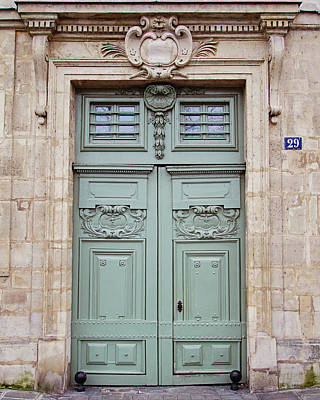 Photograph - Paris Doors No. 29 - Paris, France by Melanie Alexandra Price