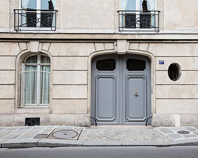 Photograph - Paris Doors - No. 57 by Melanie Alexandra Price