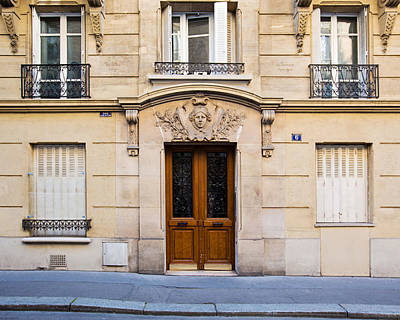 Photograph - Paris Doors - No. 6 by Melanie Alexandra Price