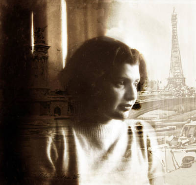 Duo Tone Photograph - Paris Dreams by Jessica Jenney