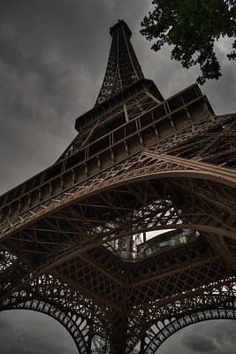 Photograph - Paris - Eiffel Tower 003 by Lance Vaughn