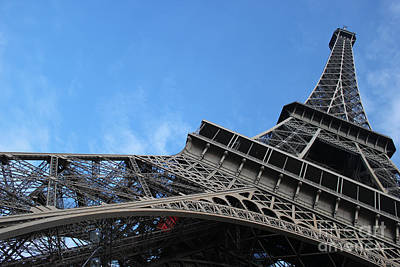Photograph - Paris Eiffel Tower by Wilko Van de Kamp