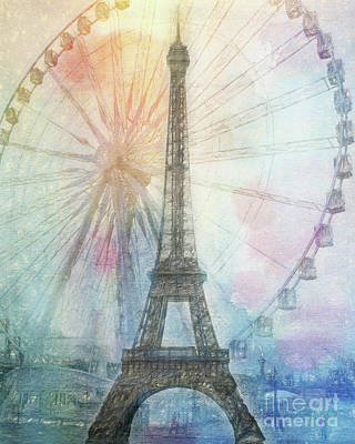 Photograph - Paris  by Erika Weber