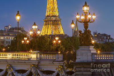 Photograph - Paris Evening by Brian Jannsen