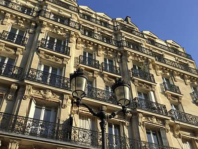 Photograph - Paris Facades by Frank DiMarco