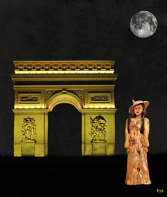 Mixed Media - Paris Fasion by Eric Kempson