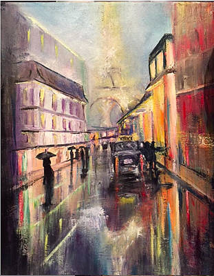 Painting - Paris Fog by Patti Lane