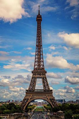 Photograph - Paris France Eiffel Tower 7k_dsc1969_09102017 by Greg Kluempers