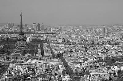 Photograph - Paris From Above by Louise Fahy