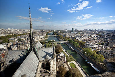 Photograph - Paris From Notre-dame by John Magyar Photography