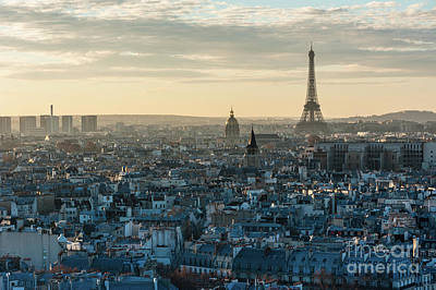 Paris Skyline Royalty-Free and Rights-Managed Images - Paris from Notre-Dame by Philippe LEJEANVRE