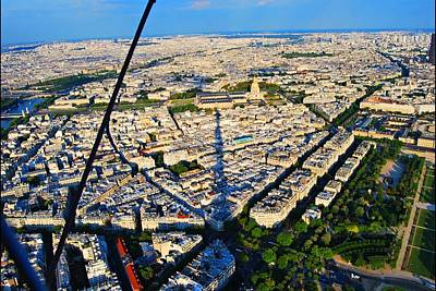 Paris Skyline Photograph - Paris From Tour Eiffel by Matteo Ravani
