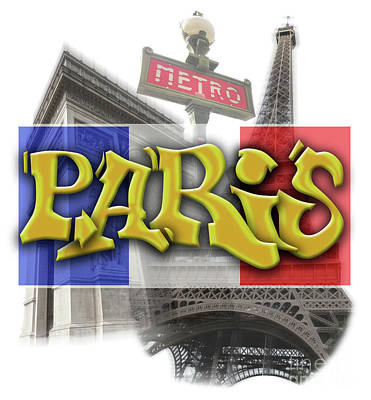 Photograph - Paris by Gregory Dyer