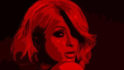 Paris Hilton Art Print by Brian Reaves