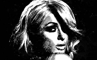 Paris Hilton S1 Art Print