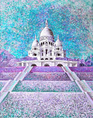 Mixed Media - Paris II by Elizabeth Lock