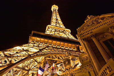 Photograph - Paris In Vegas by Kim Wilson