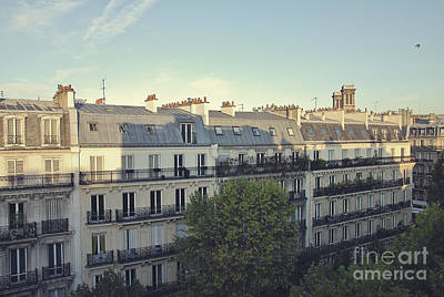 Paris Skyline Royalty-Free and Rights-Managed Images - Paris by Ivy Ho