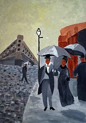 Painting - Paris by Joseph Frank Baraba