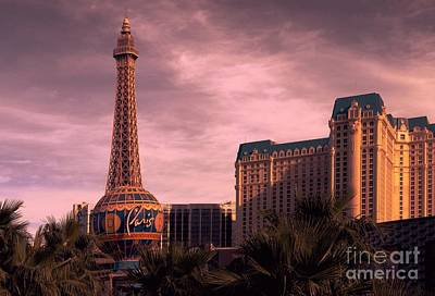Photograph - Paris Las Vegas by Bob Pardue