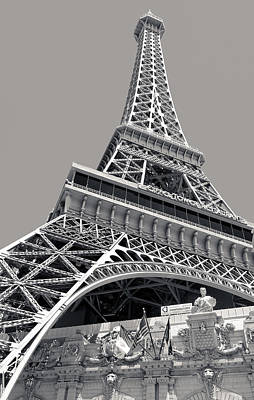 Photograph - Paris Las Vegas Hotel by Julie Niemela