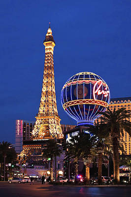 Photograph - Paris, Las Vegas by Tatiana Travelways