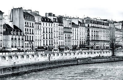 Photograph - Paris Left Bank Living by John Rizzuto