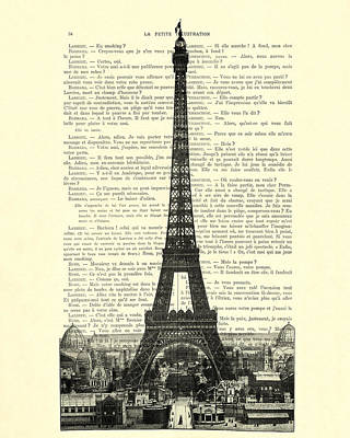 Paris, Love France Art Print