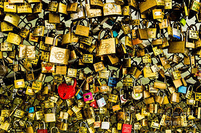 Photograph - Love Locks by M G Whittingham