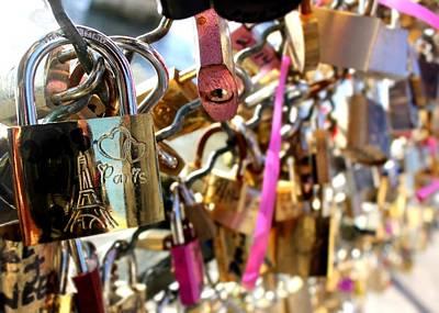 Photograph - Paris Love Locks by Tara Lowry
