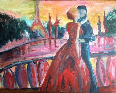 Paris Lovers Original by Roxy Rich