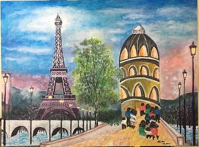 Drawing - Paris by Mimi Eskenazi