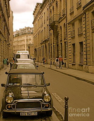 Photograph - Paris Mini by Louise Fahy