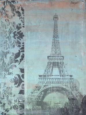 Avondet Wall Art - Mixed Media - Paris by Natalie Avondet