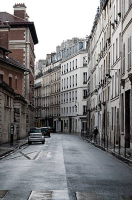Photograph - Paris Neighborhood Marais - No Right Turn 1 by Jani Freimann